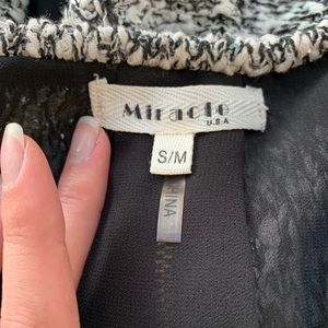 Miracle Tops - Miracle USA Long Sleeve High Low Double Layer Top
